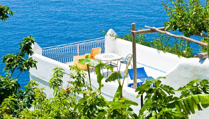 Elegante albergo costiera amalfitana camere albergo praiano for Costa diva